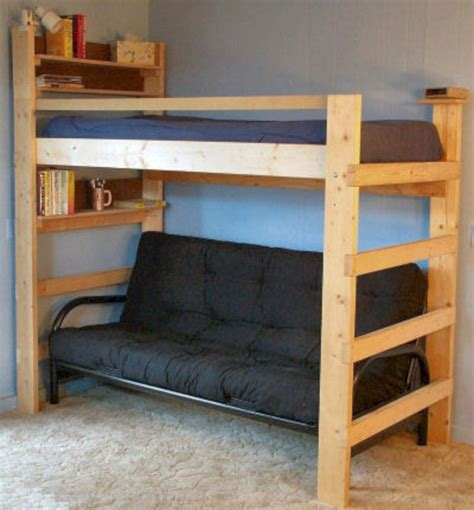 Loft Bed Bunk Beds for Home College Made In USA