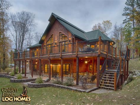 Log Home Log Cabin and Log or Timber Accent Hybrid Floor