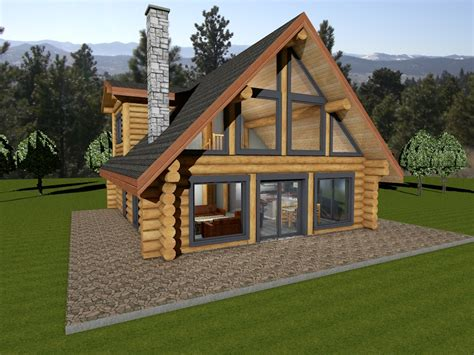 Log Homes and Log Cabin Kits Floor Plans nationwide by