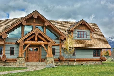 Log Timber Frame Home Styles Summit Log and Timber Homes
