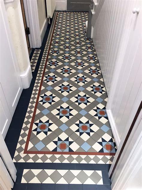 London Mosaic Victorian Floor Tiles Tiles on Sheets