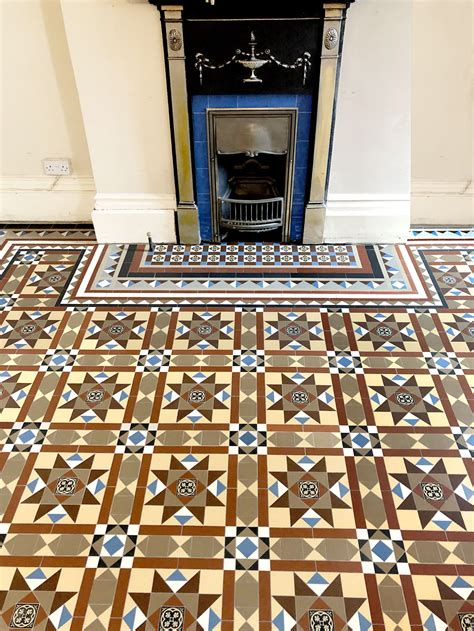 London Mosaic Victorian and Modern Tile Designs on Sheets