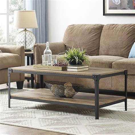 Loon Peak Arboleda Rustic Wood Coffee Table Reviews