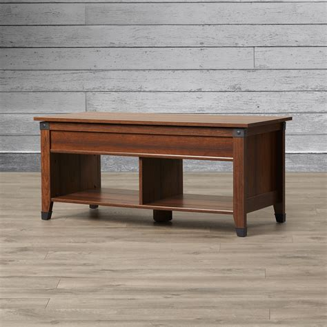 Loon Peak Newdale Coffee Table with Lift Top Reviews