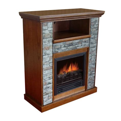 Loon Peak Santino 33 TV Stand with Fireplace Reviews