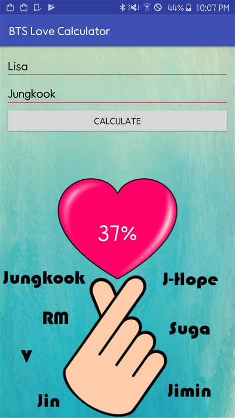Love Calculator Game Other Games GamesFreak