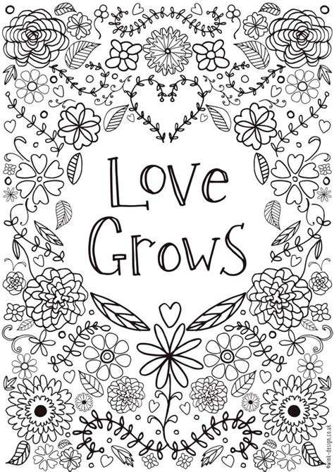 Love Coloring Pages Free Printable Coloring Pages