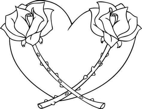 Love Coloring Pages Heart Coloring Pages