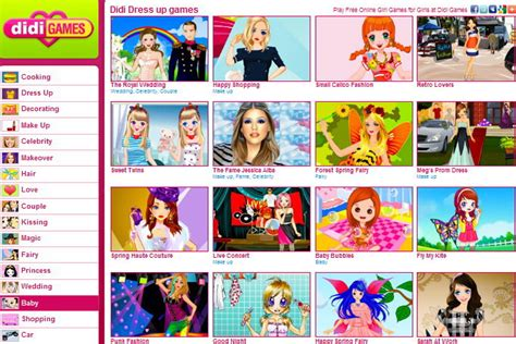 Love Games for Girls Didi Girl Games Didigames