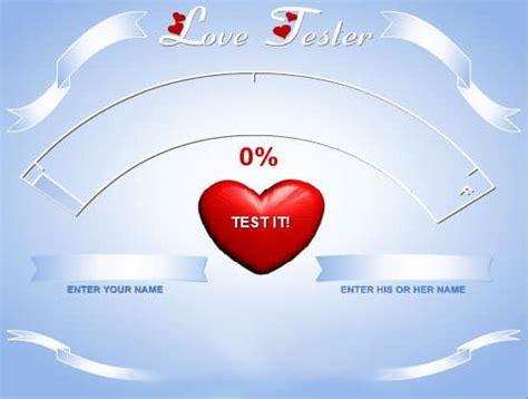 Love Meter games FunnyGames in