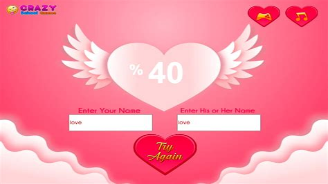 Love Meter games FunnyGames us