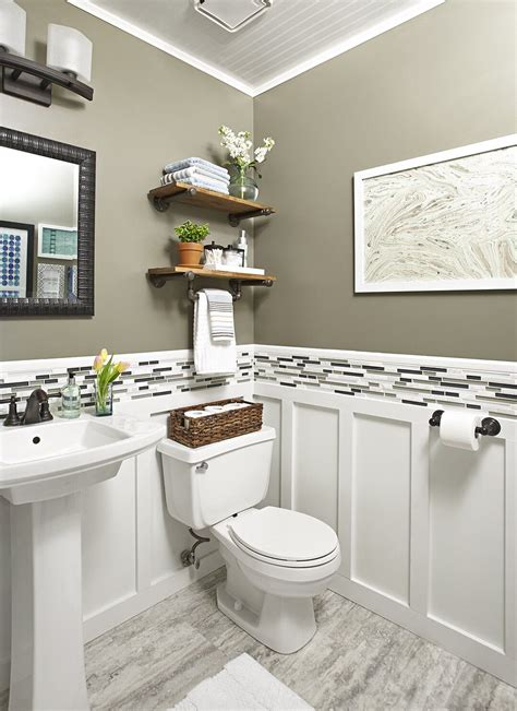 Low Cost Bathroom Updates Better Homes and Gardens