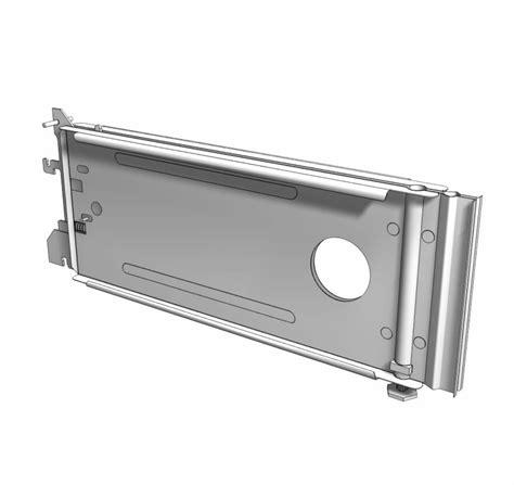 Lozier Component Parts Base Brackets Upright Posts Base
