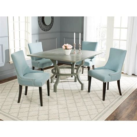 Ludlow Ash Gray Dining Table The Home Depot