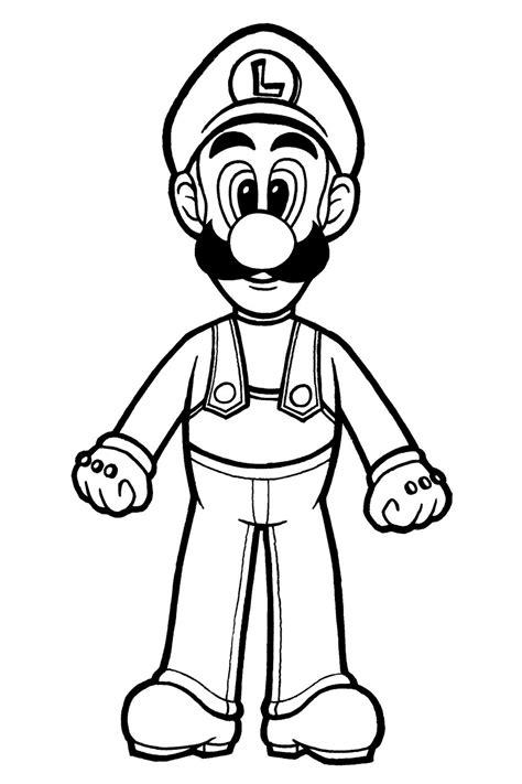 Luigi Coloring Kids