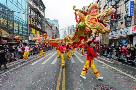 Lunar New Year Celebrations Chinatown