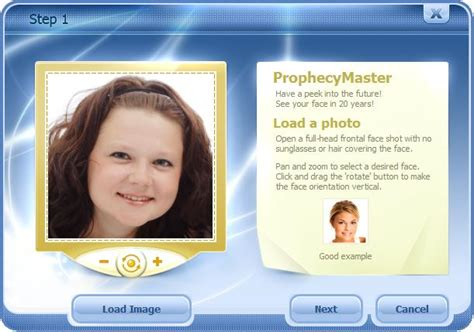 Luxand ProphecyMaster What Will You Look Like in 20 Years