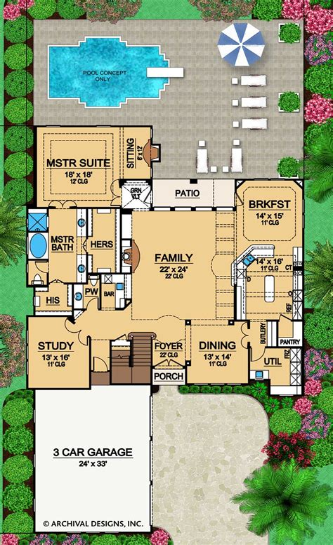 Luxury House Home Floor Plans Home Designs Design