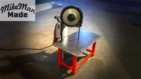 M 3 Portable Bandsaw Table Build YouTube