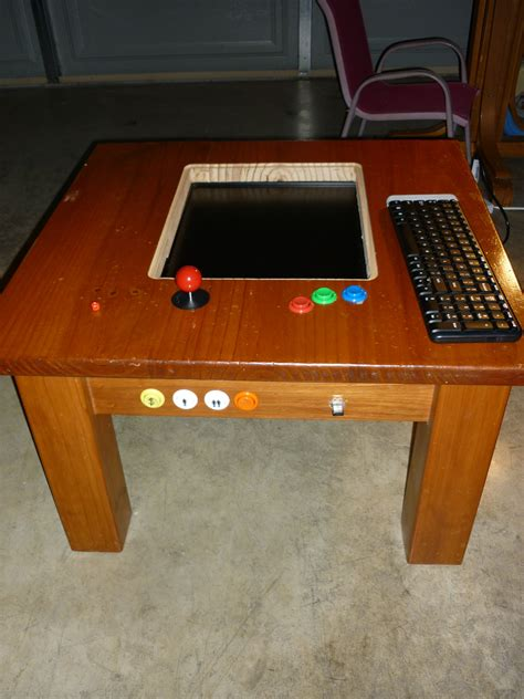 MAME Gaming Table With Raspberry Pi 5 Steps