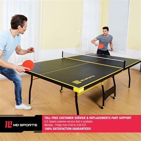 MD Sports Official Size Table Tennis Table Walmart