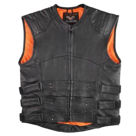 MENS VESTS Bulletproof Style Vests Eagle Leather