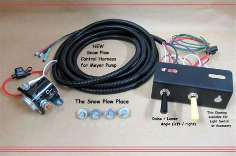MEYERS E47 TOGGLE SWITCHES WIRING HARNESS MEYER PLOW eBay