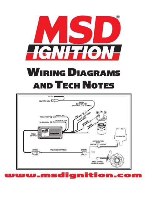 msd hei distributor wiring diagram images msd ignition wiring diagrams and tech notes scribd