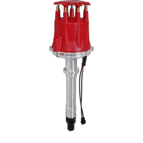 MSD Ignition 85551 Pro Billet Distributor Chevy V8 JEGS