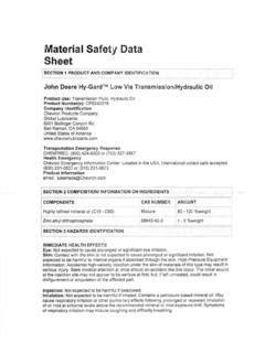 MSDS Database RSU 34