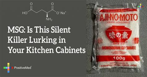 MSG Is This Silent Killer Lurking in Your Kitchen Cabinets