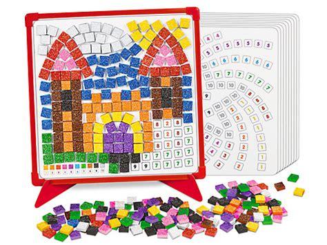 Magnet Mosaics Making Learning Fun