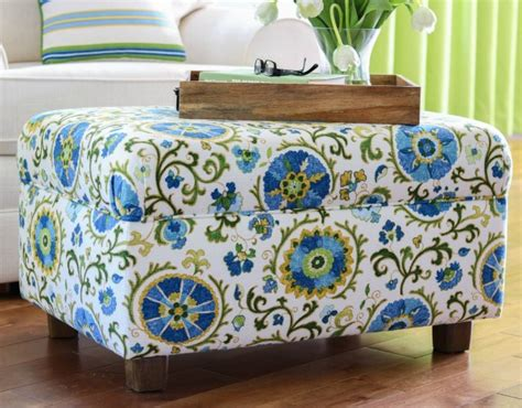 Make Your Own Ottoman How To for Making an Ottoman and