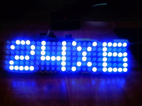 Make a 24X6 LED Matrix 6 Steps with Pictures
