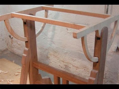 Make a wood drafting table The Architect s Table part