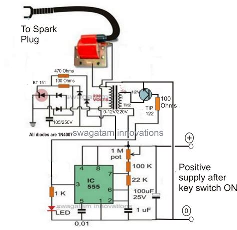Make this Enhanced Capacitive Discharge Ignition CDI