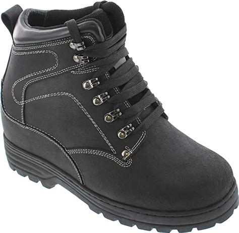 Man high heel shoes boots CALDEN Elevator Shoes at