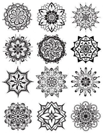 Mandala Coloring Pages Dabbles Babbles