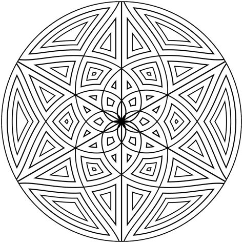 Mandala Coloring Pages and Design Patterns