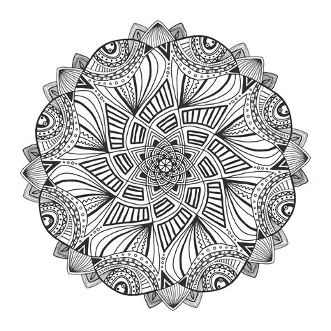 Mandala Coloring Pages gotyourhandsfull