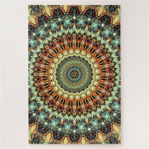 Mandala Jigsaw Puzzles Zazzle