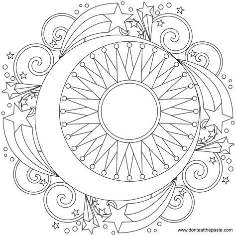 Mandala Stars Coloring Free Online Games Free Games