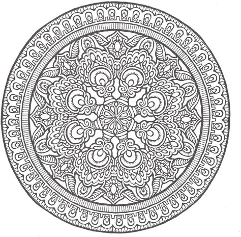 Mandala coloring pages and mandalas to color your way to