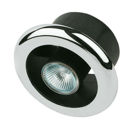 Manrose Shower Light Extractor Fan Kit Chrome 100mm