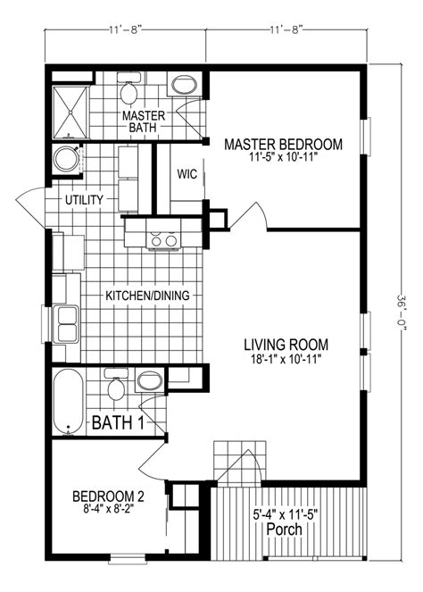 Manufactured Mobile Modular Home Floor Plans Palm