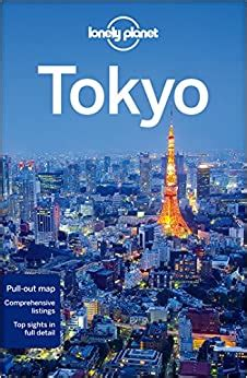 Map of Tokyo Lonely Planet