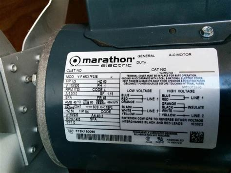 marathon electric motors wiring diagram marathon wiring marathon 3 4 hp motor wiring diagram images pump motor wiring