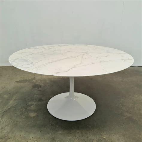 Marble Coffee Table Inspired by Saarinen SuperStudio
