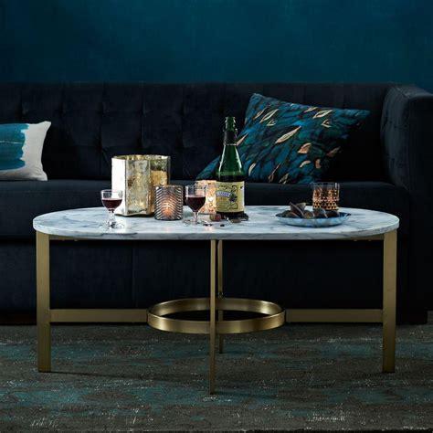 Marble Oval Coffee Tables You ll Love Wayfair ca