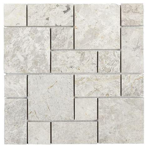 Marble Wall Tiles Stone Mosaic 5 Box RONA